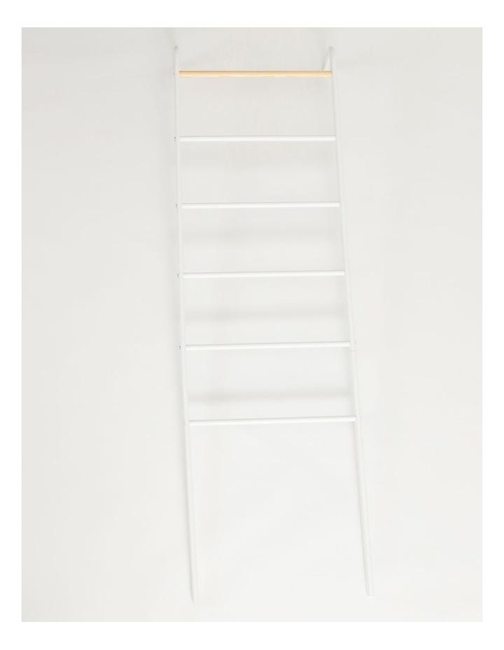Arlington Storage Ladder in White image 1
