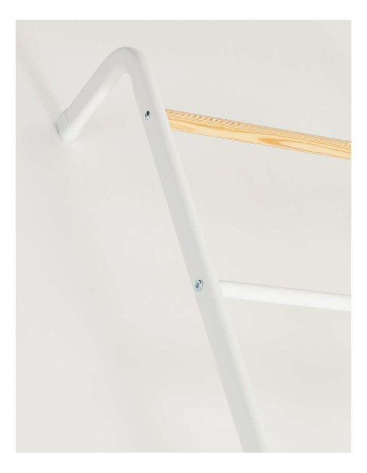 Arlington Storage Ladder in White image 2