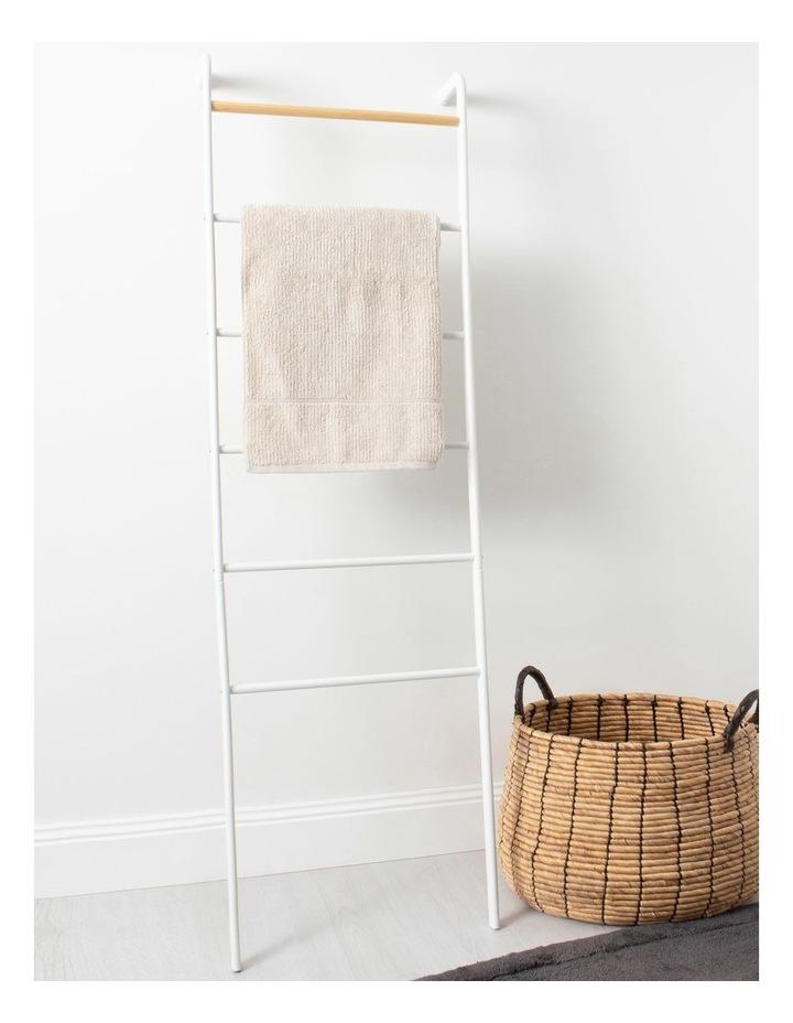 Arlington Storage Ladder in White image 3