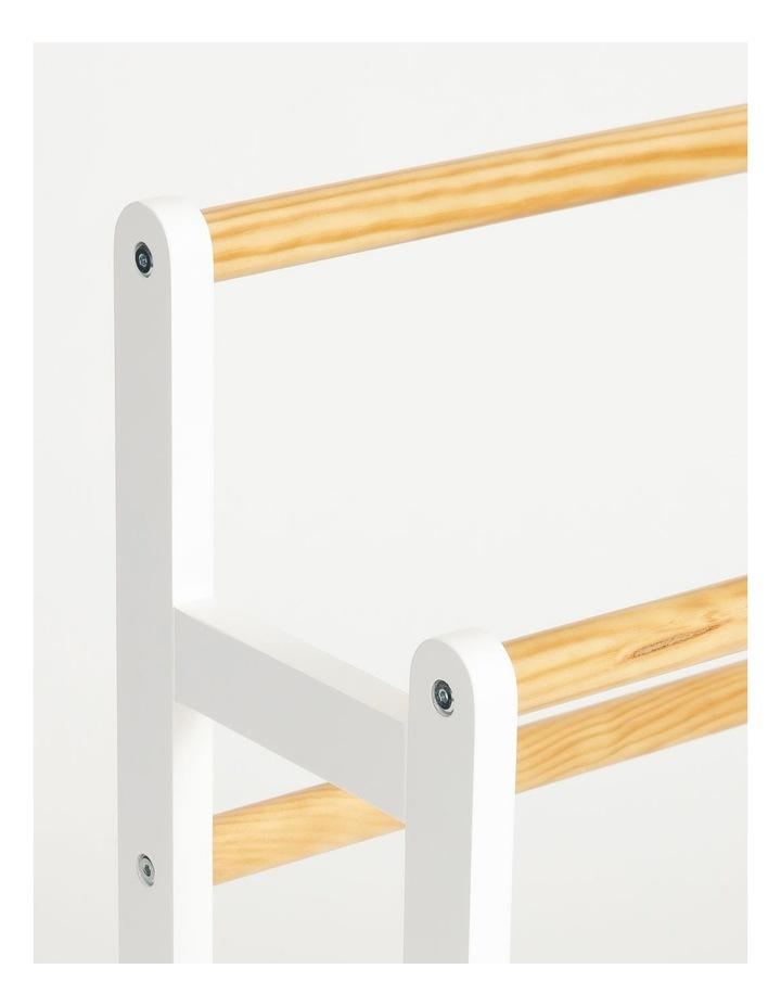 Arlington Towel Rack in White image 2