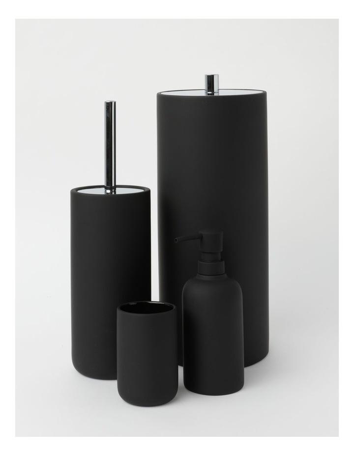 Alma Bathroom Accessory Range in Black image 1
