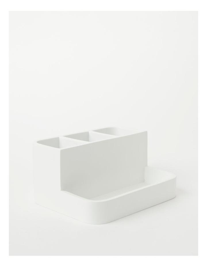 Alma Bathroom Accessories in White image 1