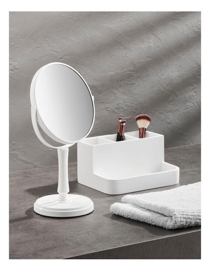 Alma Bathroom Accessories in White image 2