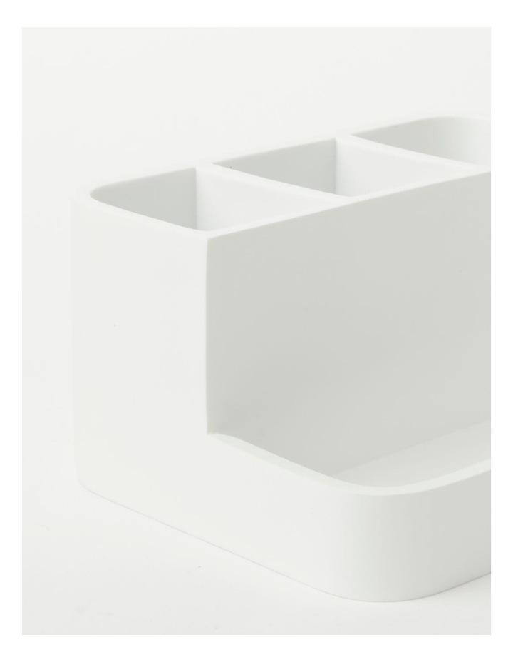 Alma Bathroom Accessories in White image 5