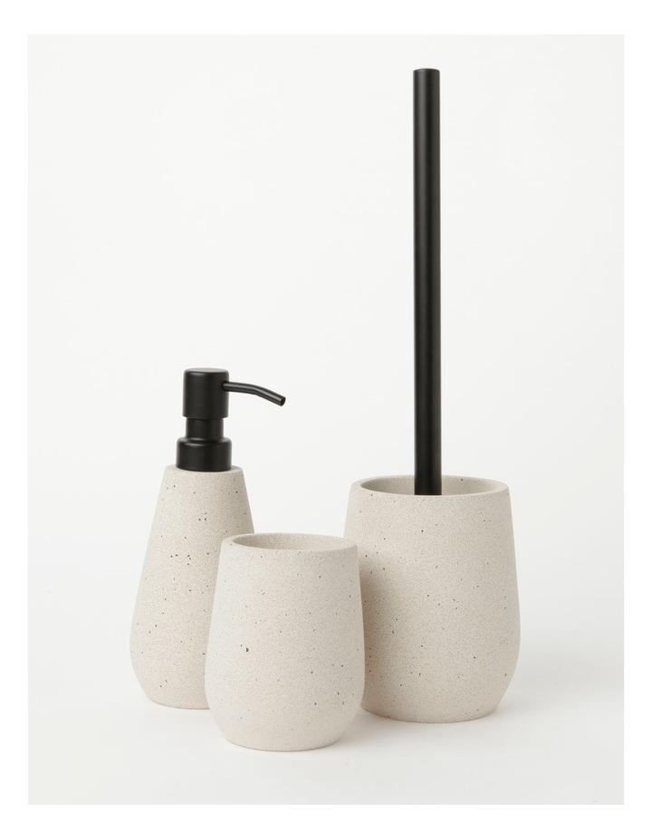 Concrete Bathroom Accessories Range in Natural image 1