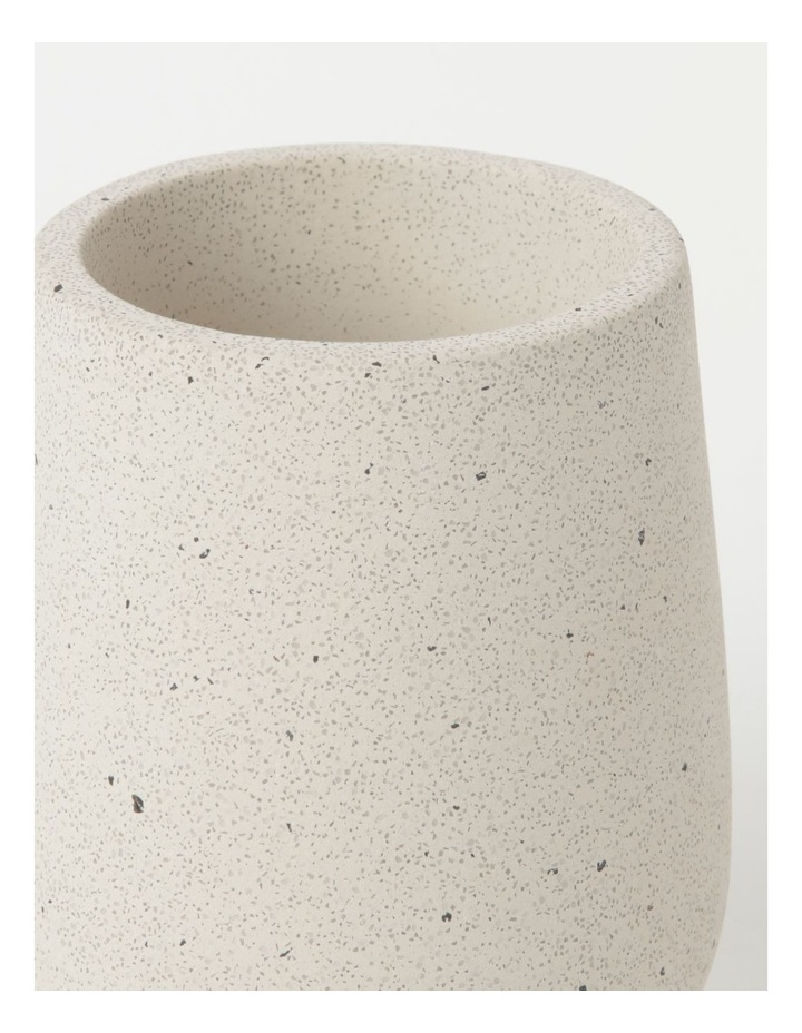Concrete Bathroom Accessories Range in Natural image 6