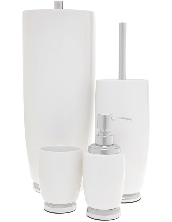Charmaine Bathroom Accessories in White image 1