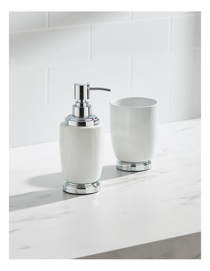 Charmaine Bathroom Accessories in White image 2
