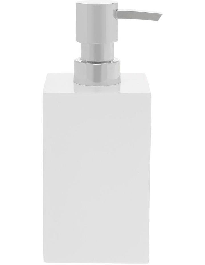 Lotus Bathroom Accessories in White image 2