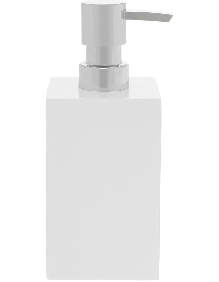 Lotus Bathroom Accessories in White image 3