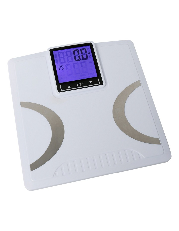 XY-6091 LCD Back Lit Bodyfat and hydration Bathroom Scale image 2