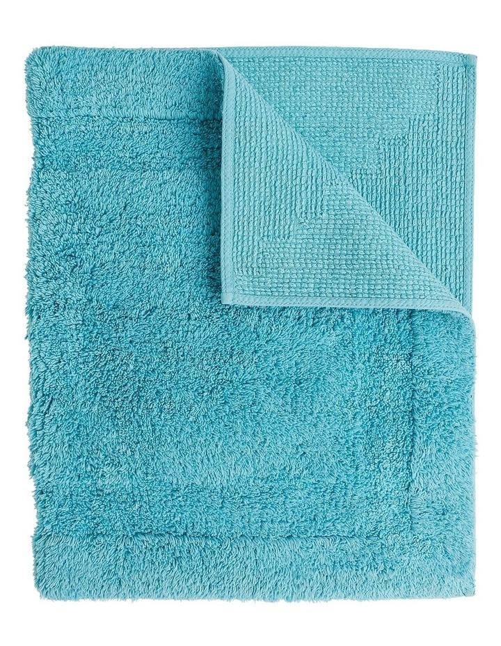 Canterbury Bath Mat in Blue image 4