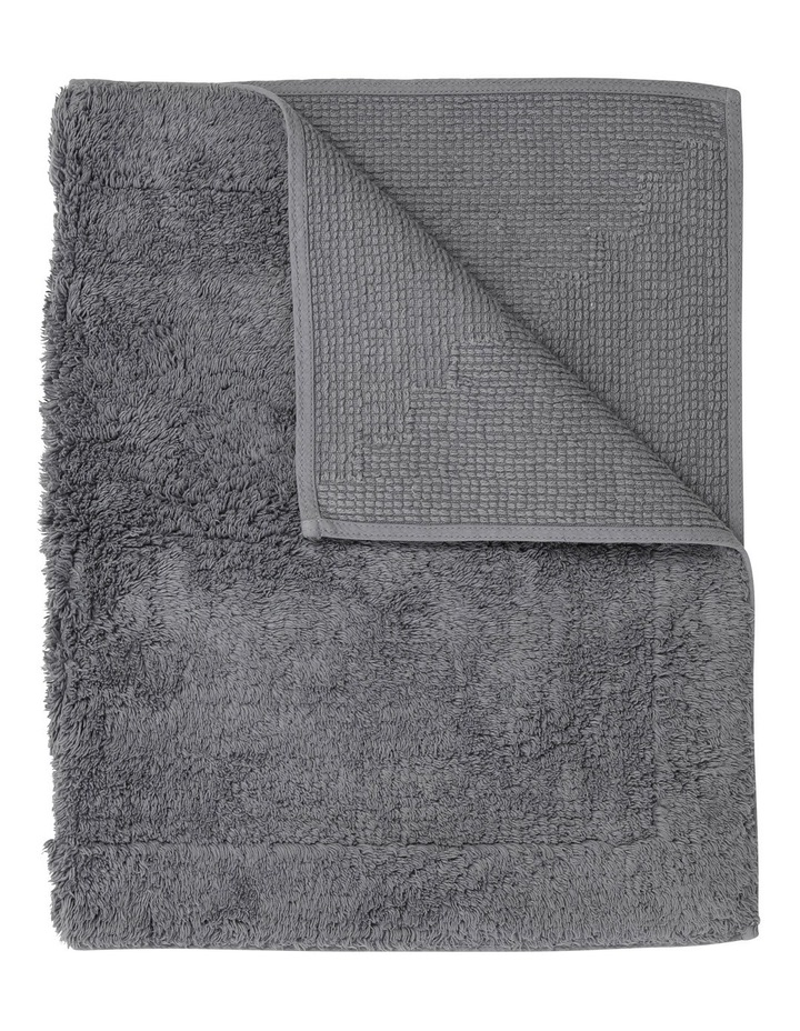 Canterbury Bath Mat in Grey image 1