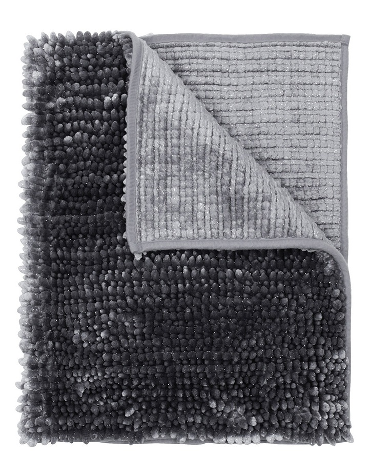 Abozzo Tufted Bath Mat in Charcoal image 1