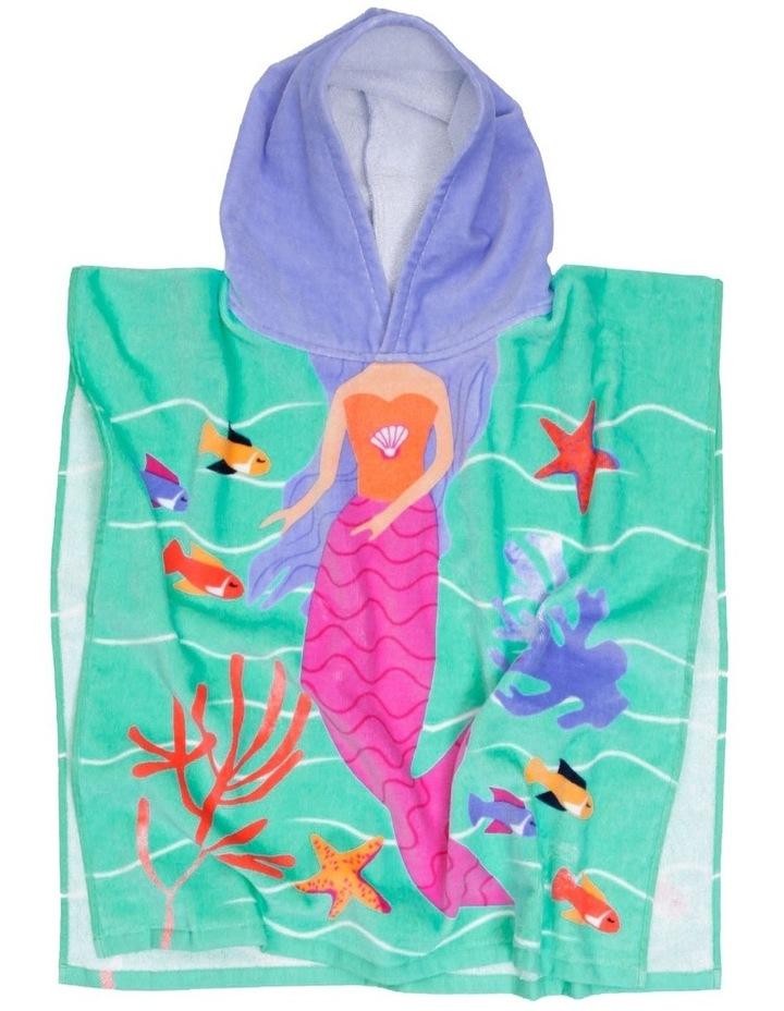 Mermaid Melody Beach Poncho image 2