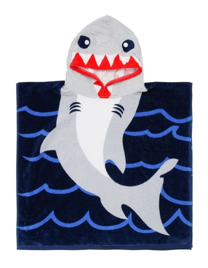 Shark Nibble Beach Poncho image 1