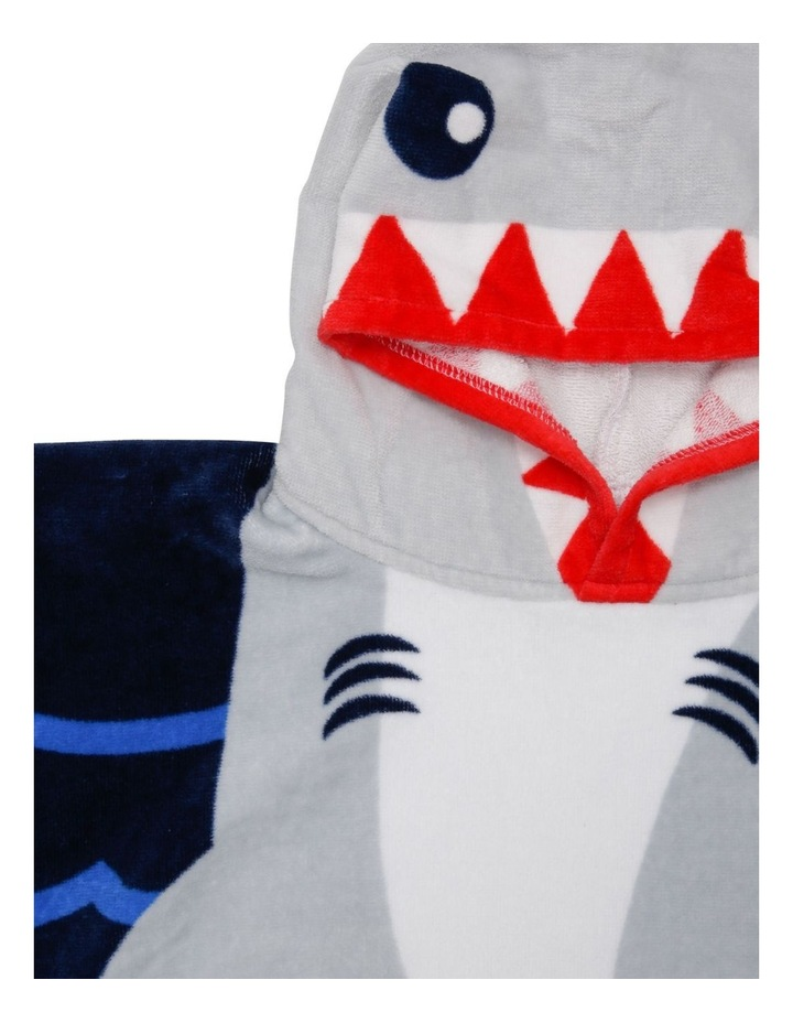 Shark Nibble Beach Poncho image 2