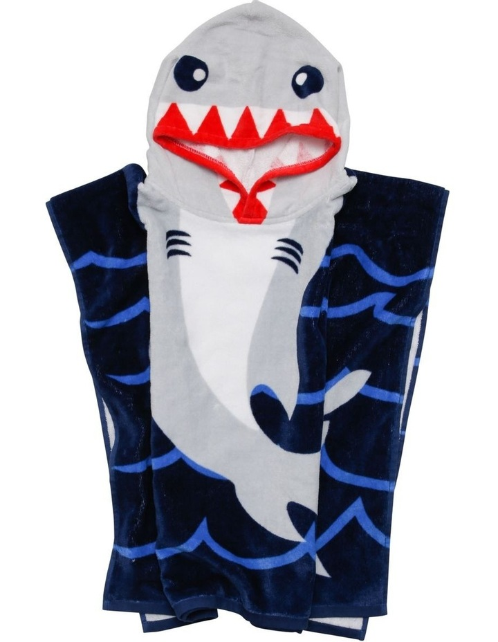 Shark Nibble Beach Poncho image 3
