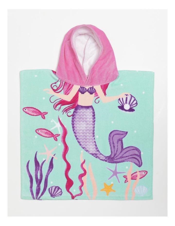 Mermaid Kid's Beach Poncho image 1