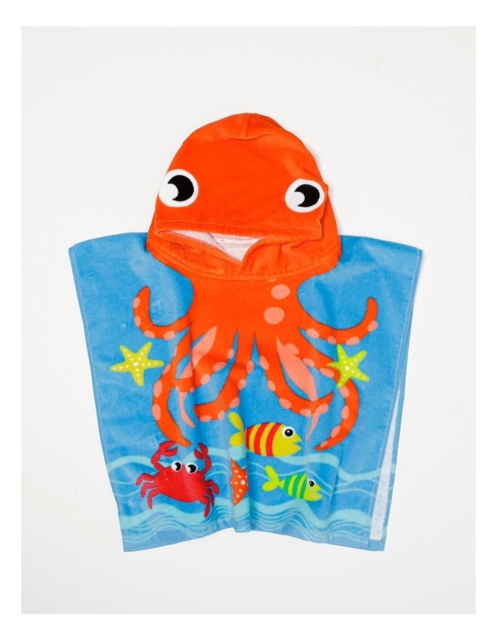 Little Octopus Toddler Beach Poncho image 2