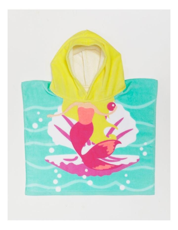 Mermaid Shell Toddler Beach Poncho image 1