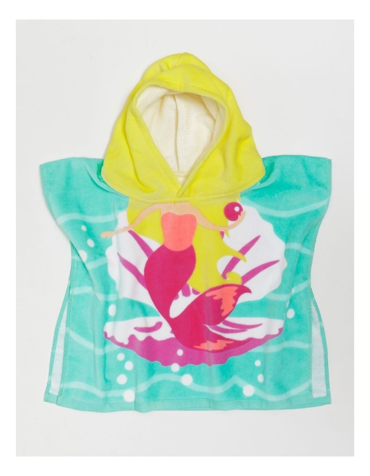 Mermaid Shell Toddler Beach Poncho image 3