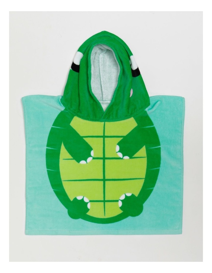 Baby Turtle Toddler Beach Poncho image 1