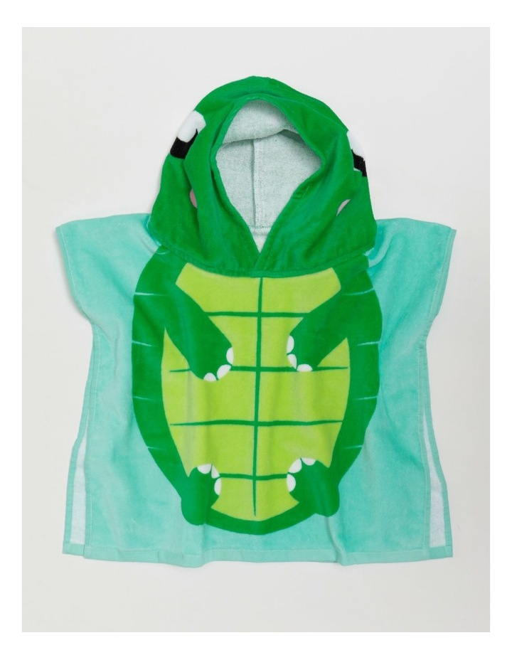 Baby Turtle Toddler Beach Poncho image 3