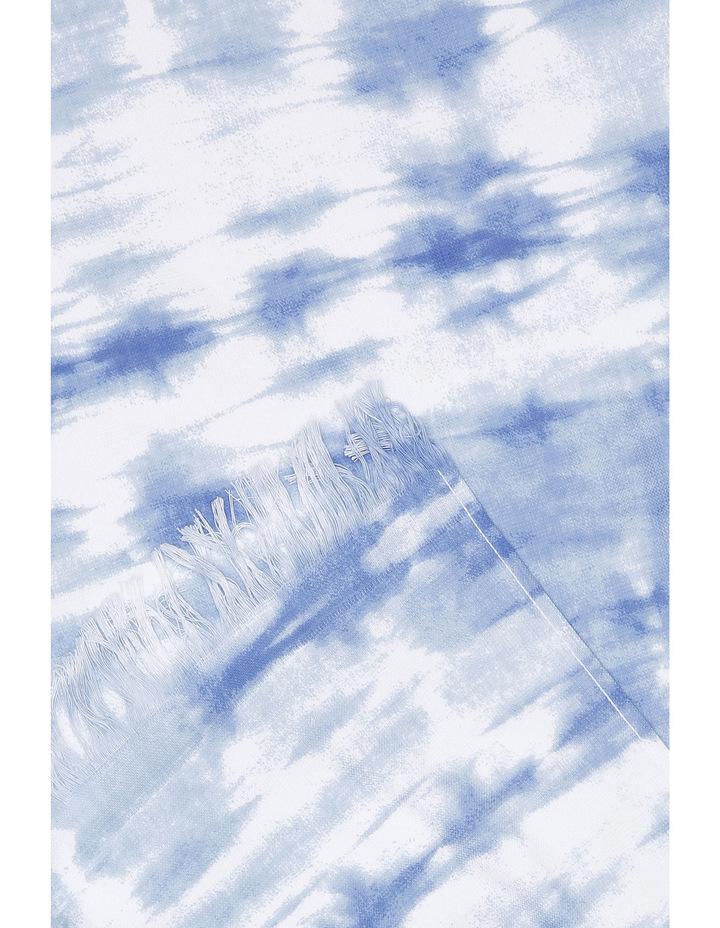 Lake Eyre Beach Towel in Bribie Shibori Blue image 2