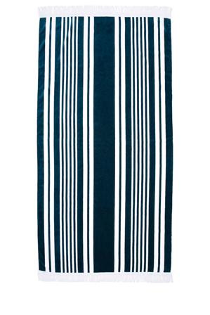 Vue - Coastal Beach Towel: Tenerife Blue