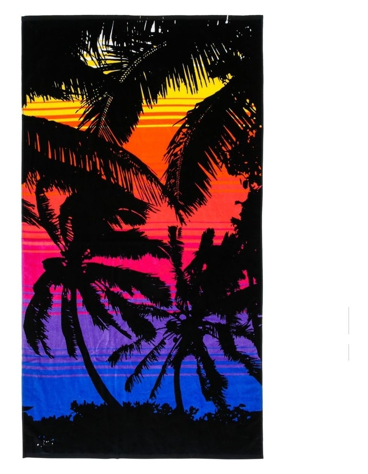 Harbour Bali Sunset Beach Towel image 1