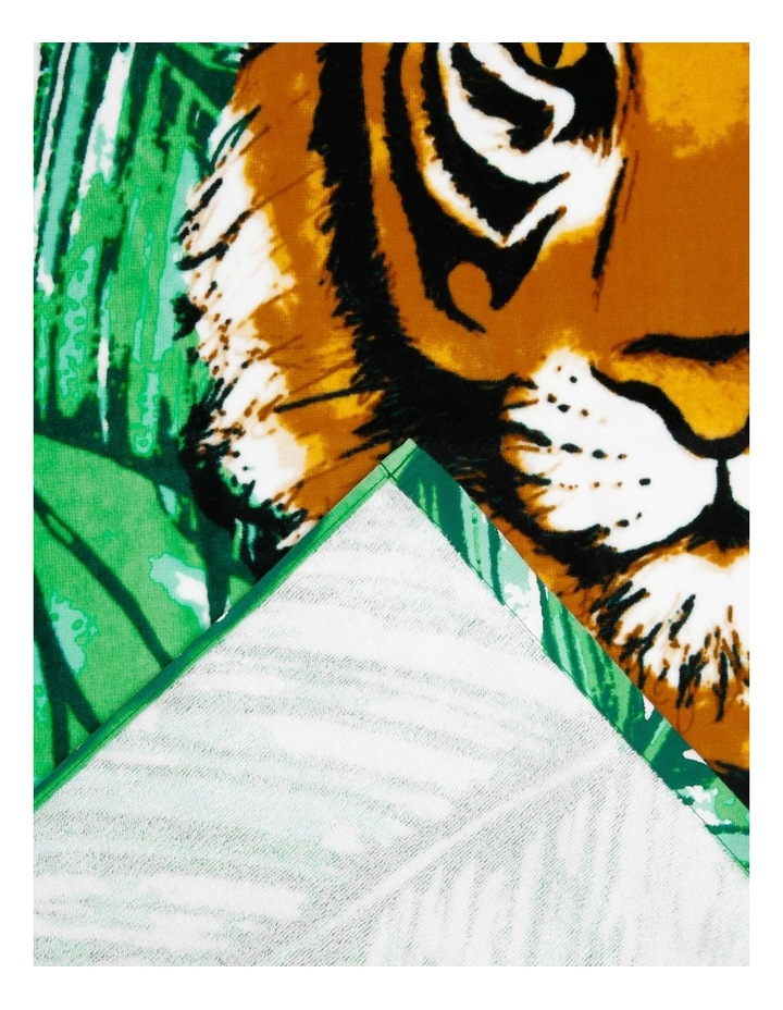 Harbour Colombia Tiger Face Beach Towel image 2