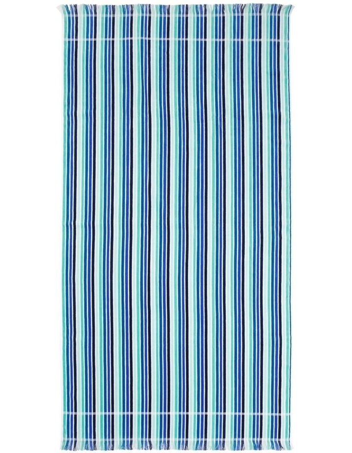 Peninsula Cameroon Stripe Beach Towel image 1