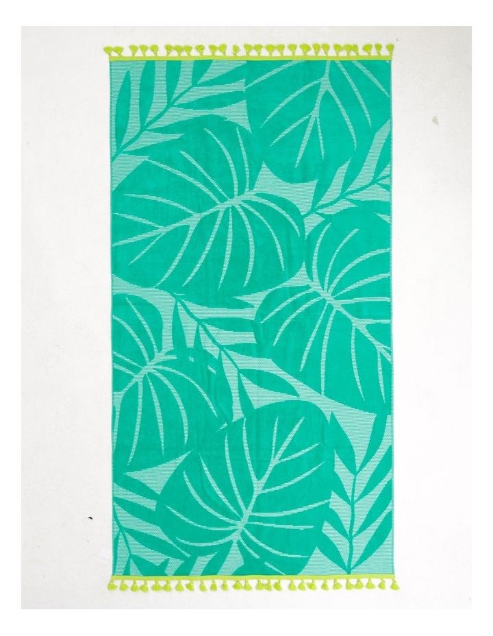 Coastal Cebu Palm Beach Towel image 1