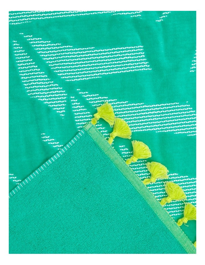 Coastal Cebu Palm Beach Towel image 2