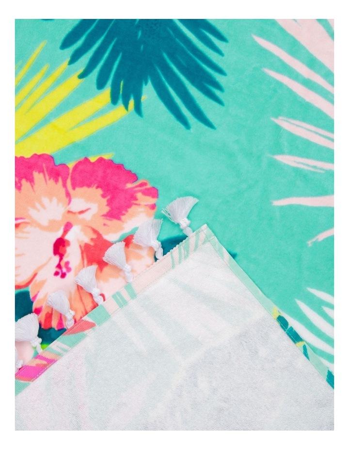 Hampton Diascia Floral Beach Towel image 2
