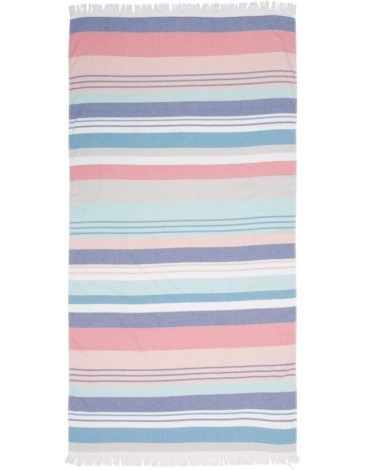 Elliston Stripe Turkish Beach Towel image 1