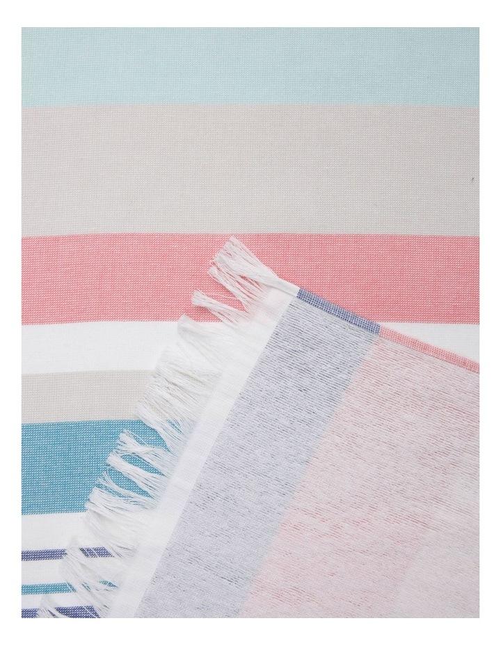 Elliston Stripe Turkish Beach Towel image 2