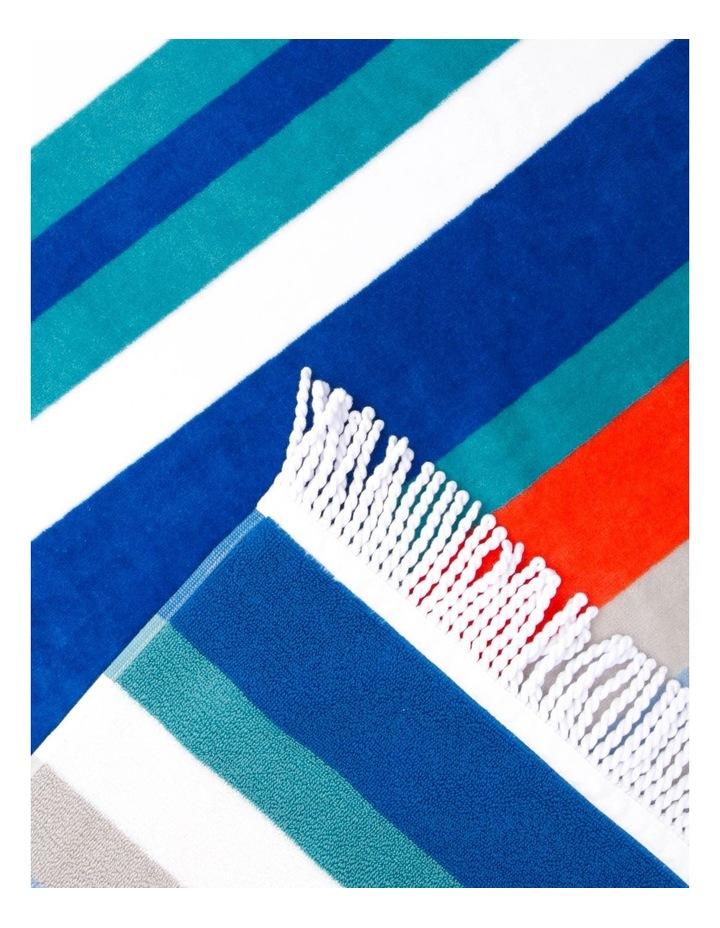 Rosedale Stripe Beach Towel in Multi image 2