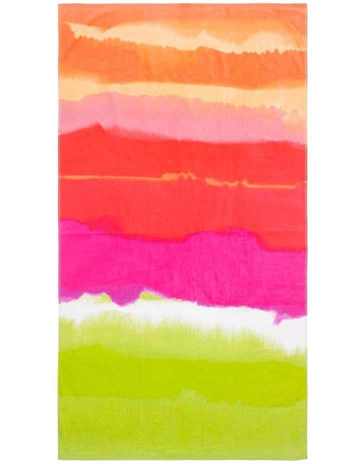 Harbour Rainbow Tropics Beach Towel image 1