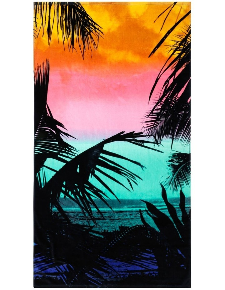 Harbour Tranquil Summer Beach Towel image 1