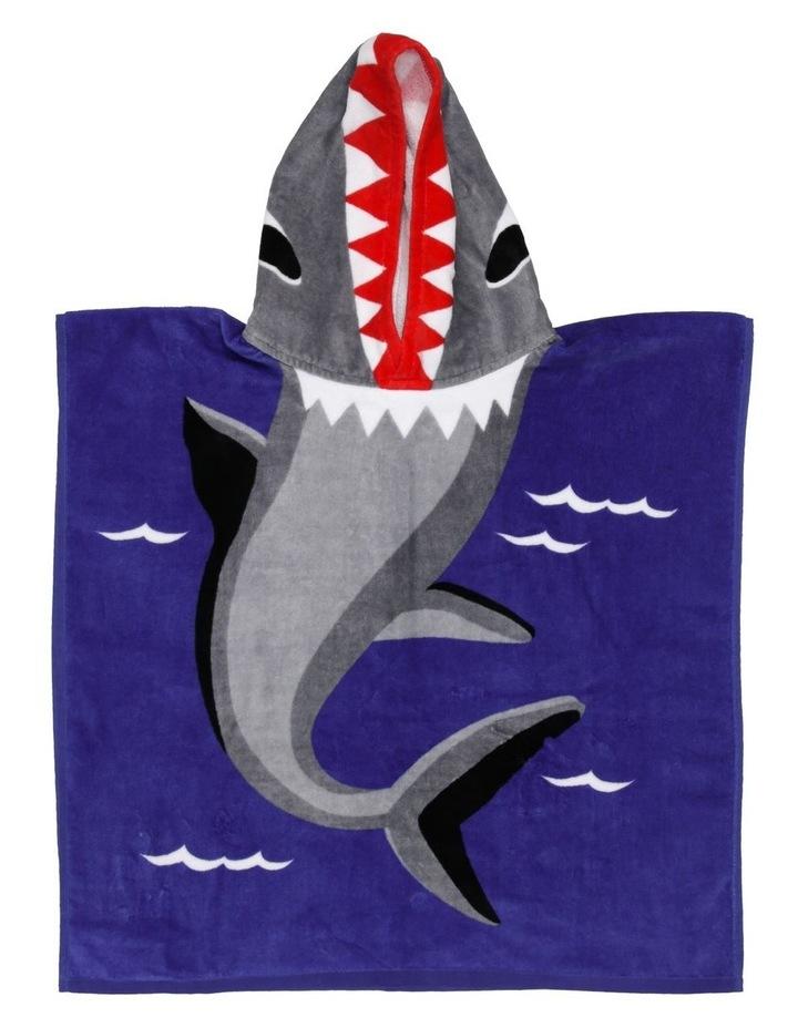 Shark Bite Beach Poncho image 1
