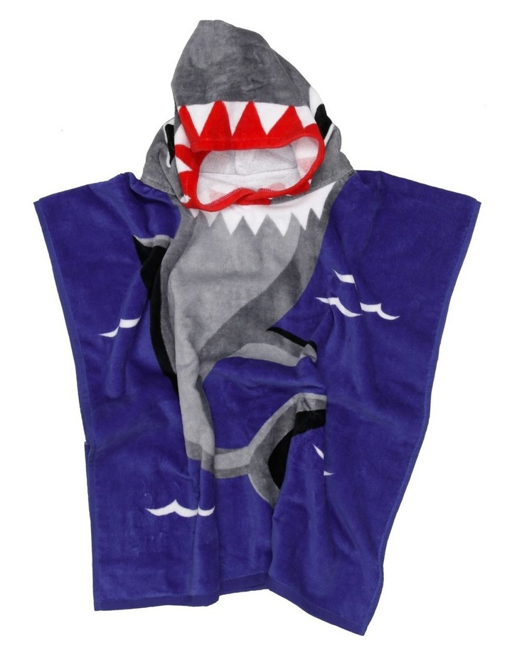 Shark Bite Beach Poncho image 2