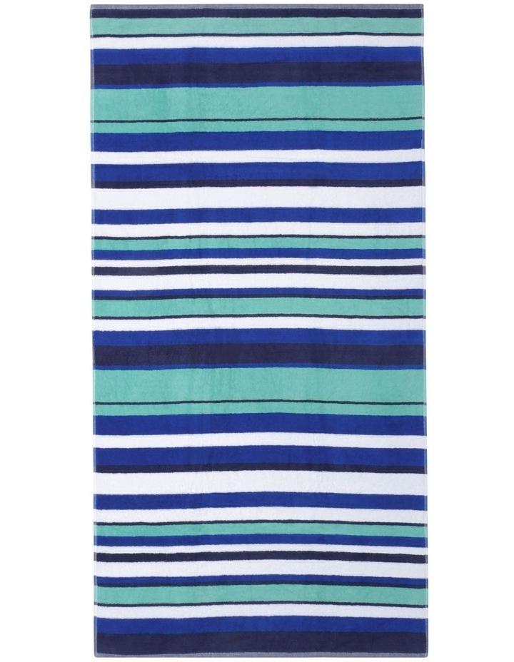Santos Beach Towel in Ocean image 1