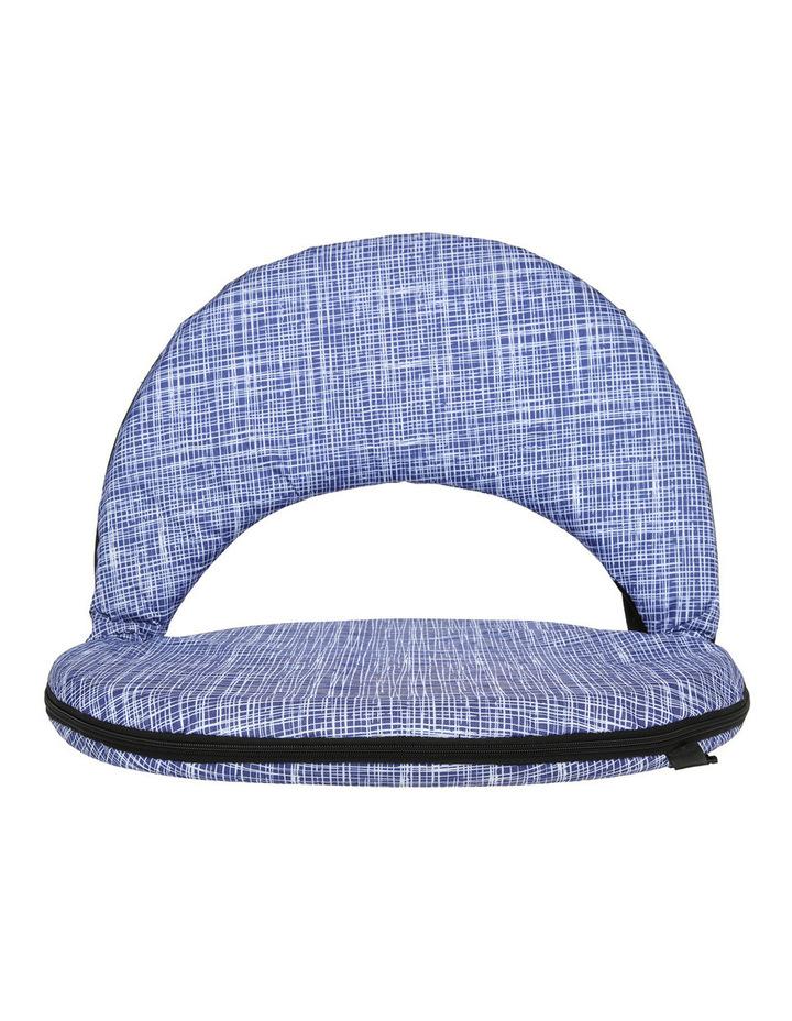 Mauritius Beach Recliner Chair Blue image 1