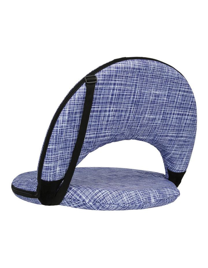 Mauritius Beach Recliner Chair Blue image 2