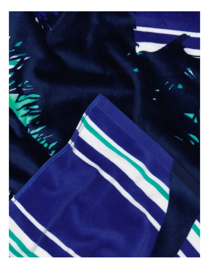 Harbour Velour Beach Towel: Palmy Nights image 2