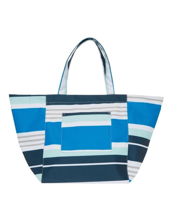 Stripe Tote Bag in Multi image 1