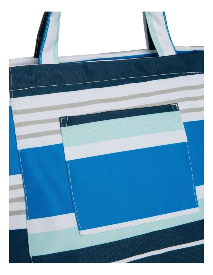 Stripe Tote Bag in Multi image 3