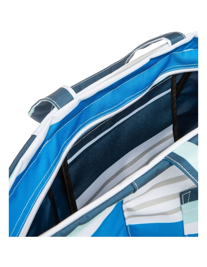 Stripe Tote Bag in Multi image 4